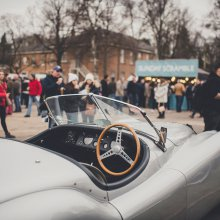 Happy new year, indeed! Record turnout at Bicester Heritage