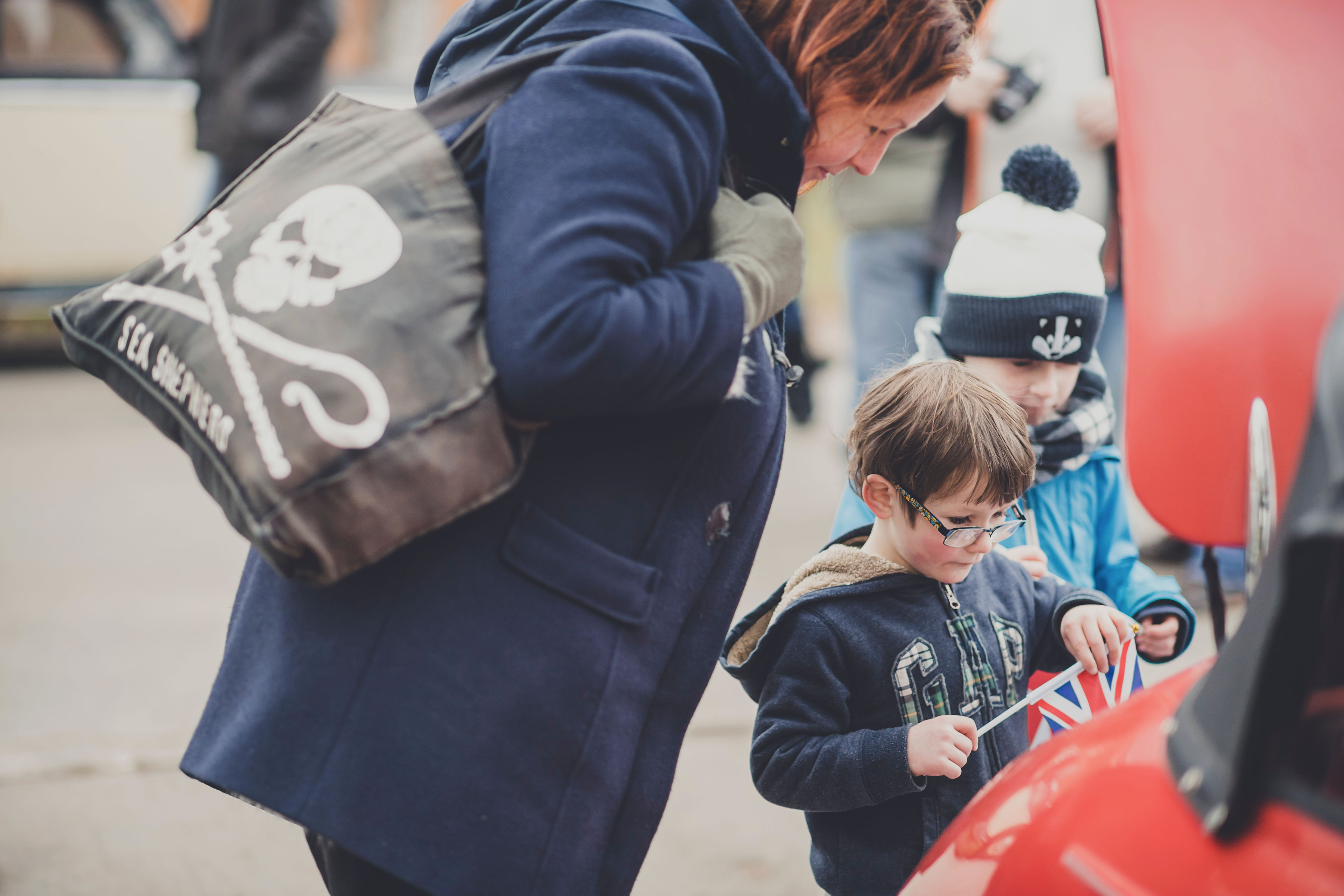 Museums, Happy new year, indeed! Record turnout at Bicester Heritage, ClassicCars.com Journal