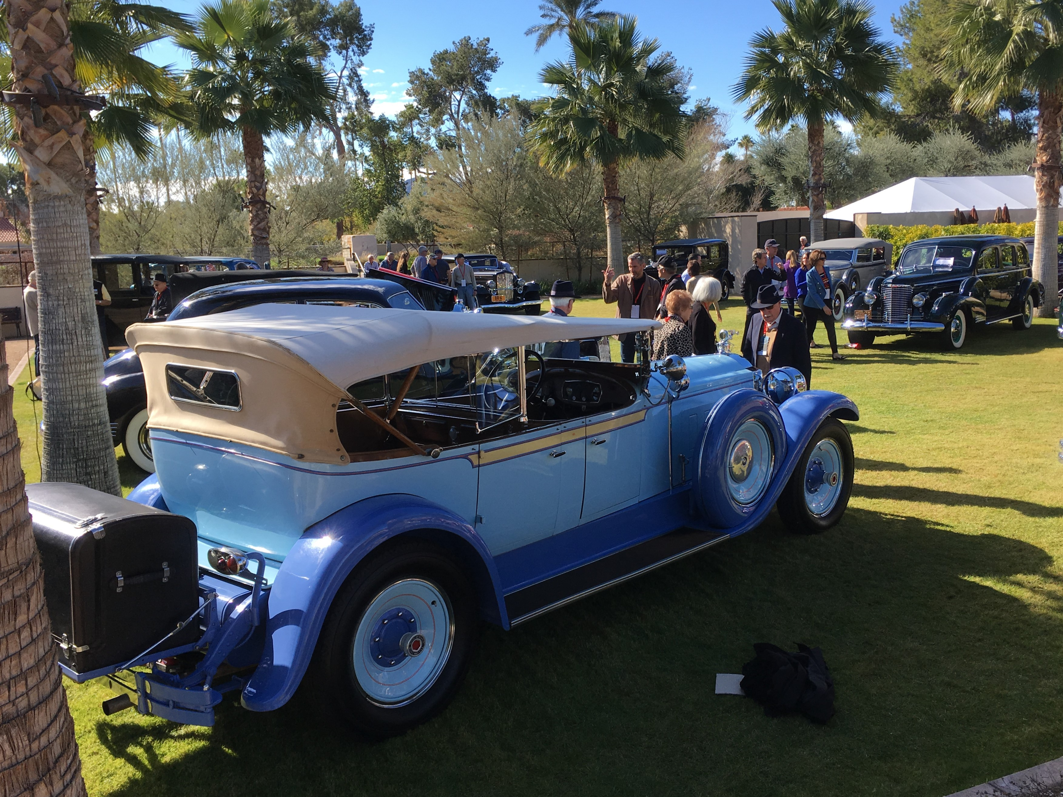 CCCA Grand Classic Concours provided world-class car viewing in an intimate setting.