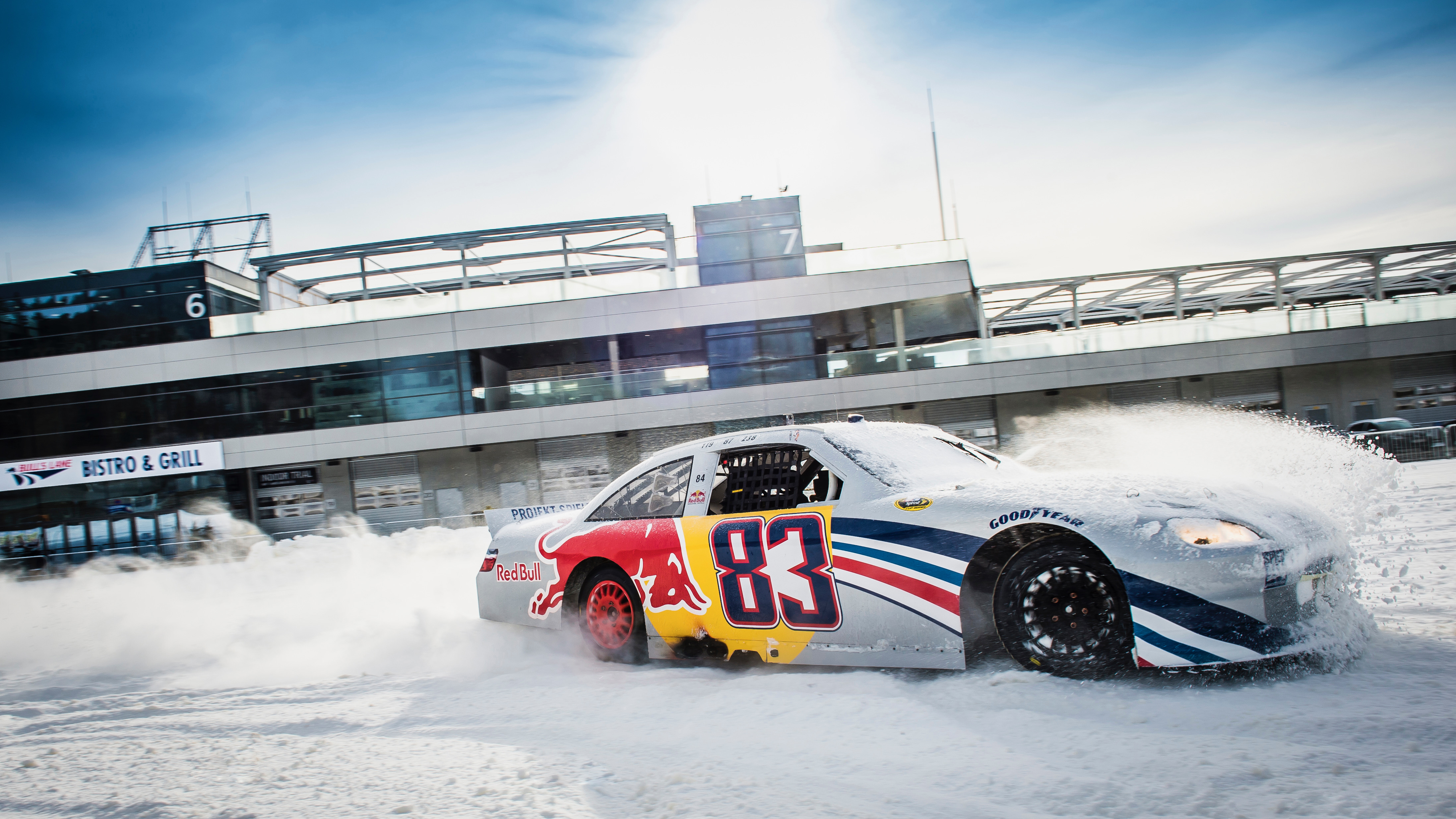 NASCAR racer will compete on studded tires in ice race
