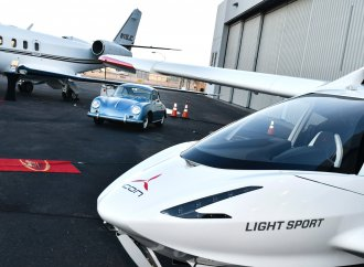 Planes, no trains, and automobiles featured at Arizona Jet Center party