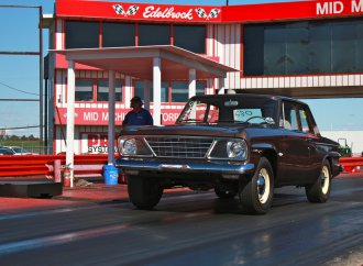 This 'plain brown' Studebaker is no mere grocery getter