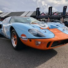 Superformance unveils 50th anniversary Gulf GT40