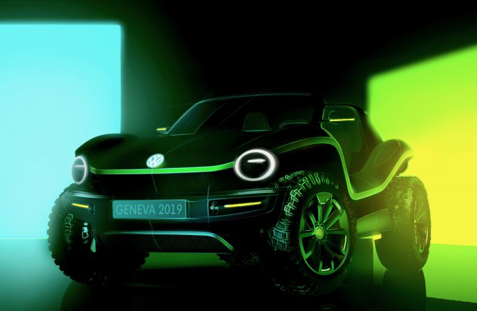 VW to unveil new dune buggy — and it's electric-powered