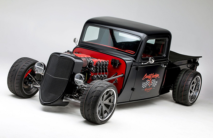 This full truck kit by Factory Five is one of a handful of new officially licensed Barrett-Jackson products announced Monday. | Factory Five photos