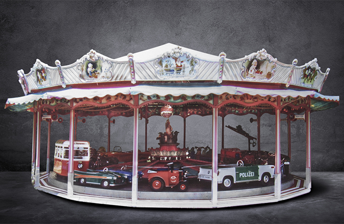 Hop on: Barrett-Jackson offering full-size carousel at upcoming Scottsdale sale