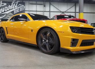 Bumble-bid: Four Camaros from 'Transformers' films heading to auction