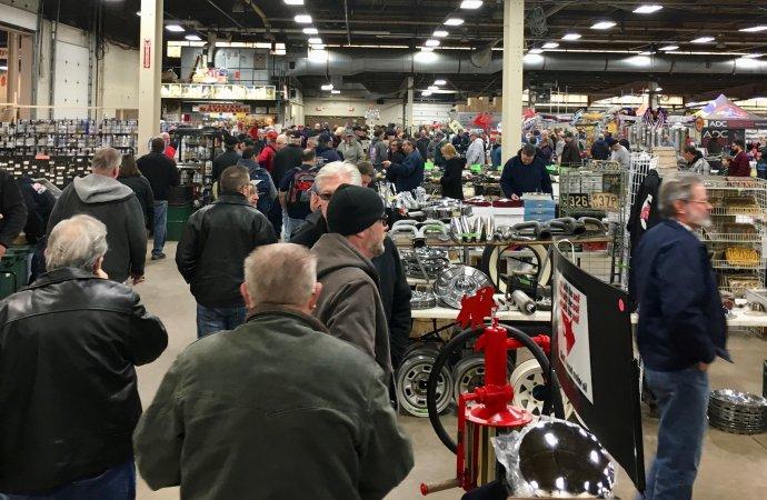 Carlisle opens its 2019 calendar with indoor flea market