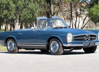 Mercedes-Benz roadster once owned by John Lennon on Barrett-Jackson docket