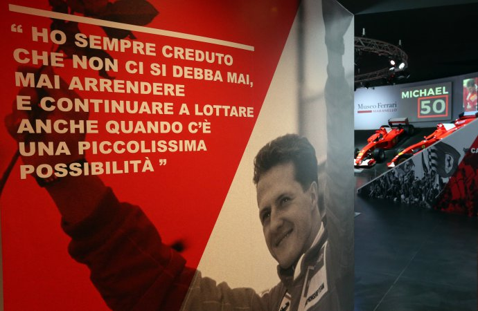 Ferrari Museum honors Schumacher on his 50th birthday