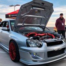 Modified Subaru WRX STi takes top prize at Future Classic Car Show
