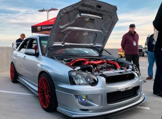 Modified Subaru WRX STi takes top prize at Future Classic Car Show