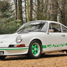 Original Porsche 911 Carrera RS 2.7 heads to auction