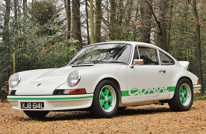 Silverstone Auctions will offer this Porsche 911 Carrera RS 2.7 at its upcoming sale. | Silverstone Auctions photos