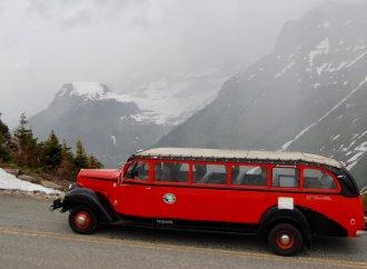Glacier Park's vintage Red Bus Fleet getting hybrid makeover
