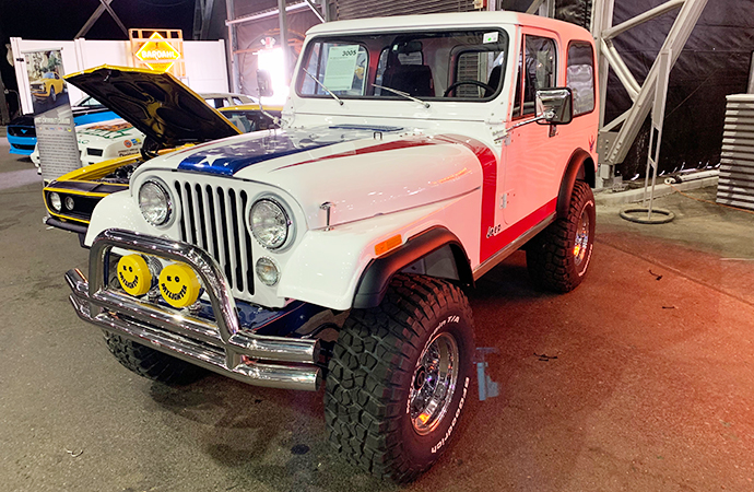 If you catch the Forrest Gump reference on this Jeep, you've got a keen eye.