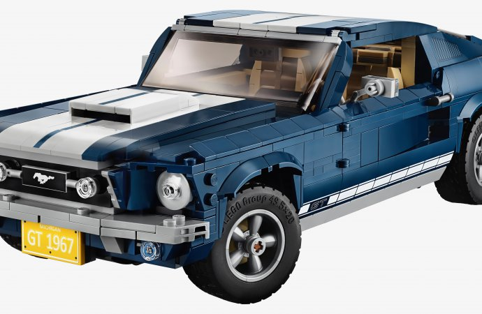 Assembly required: Lego rolling out 1967 Ford Mustang