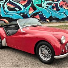 A little English: '57 Triumph TR3 sports car is still affordable