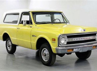 Factory-correct 1969 Chevy Blazer in rare unaltered condition