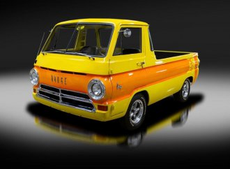 '69 Dodge A100 looks like a full-size Hot Wheels