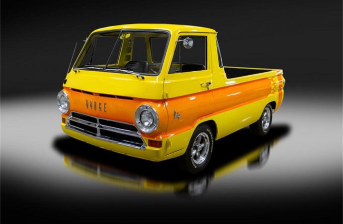 '69 Dodge A100 looks like a full-size Hot Wheels