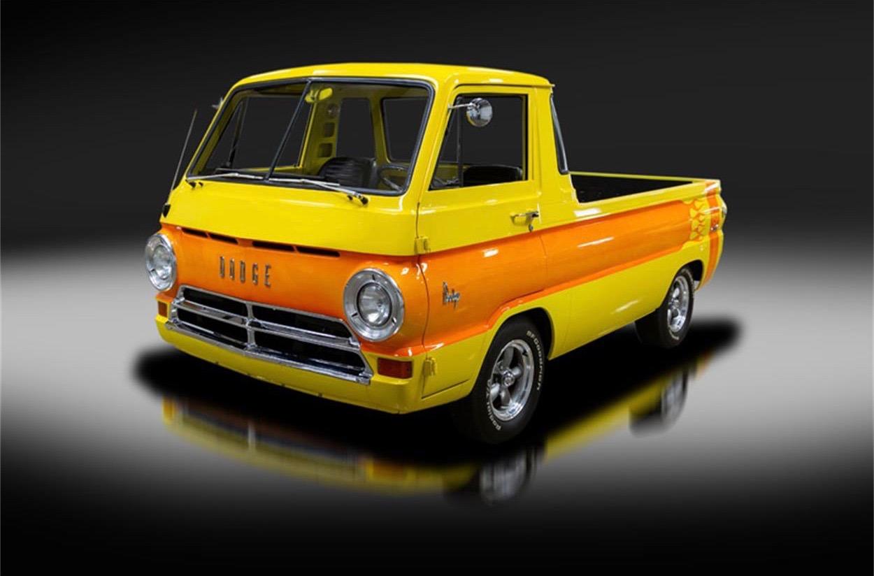 '69 Dodge A100 pickup looks like a full-size Hot Wheels