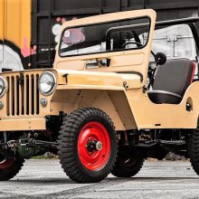 Civilian-life 1948 Willys Jeep restored and ready for fun