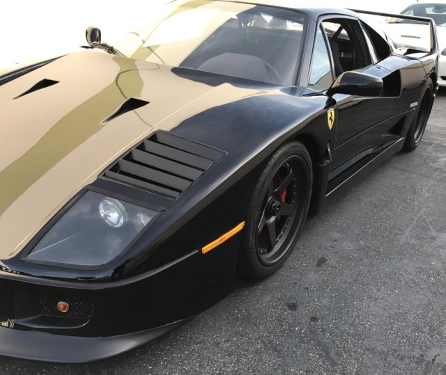 Ferrari F40: US Marshals Auction FBI-seized Ferrari F40 For $760,000