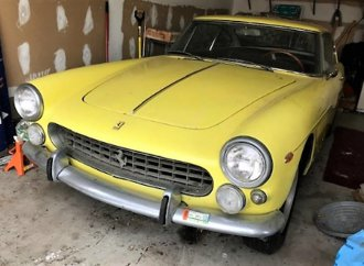 Long-lost 1964 Ferrari 330 America found after 34 years parked in a garage