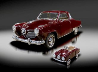 '51 Studebaker offered with matching pedal car