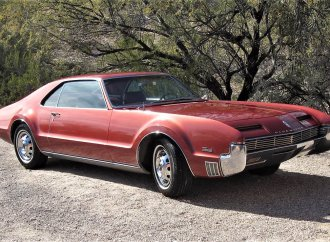 Bold and beautiful '66 Oldsmobile Toronado in restored condition