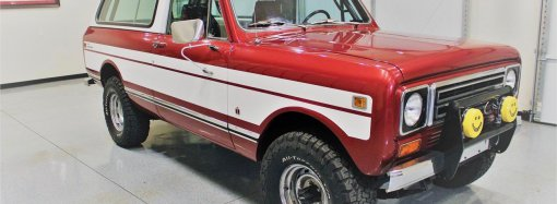 International Harvester SUV went upscale in the 1970s