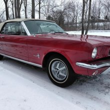 Several features make this a rare '66 Mustang