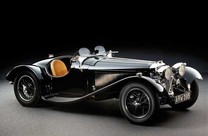 Renowned Jaguar/SS sports car, racer collection offered for sale