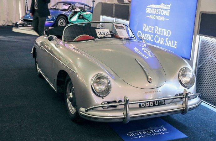 Porsche Speedster, Ferrari Dino top Silversone's Race Retro sale