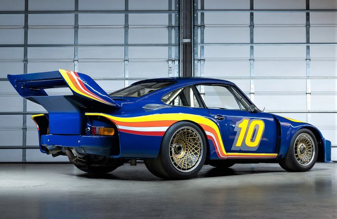Porsche endurance racers readied for Gooding Amelia Island sale