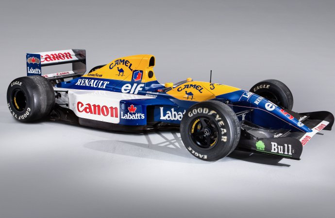 Mansell's 'Red Five' racer heads to auction