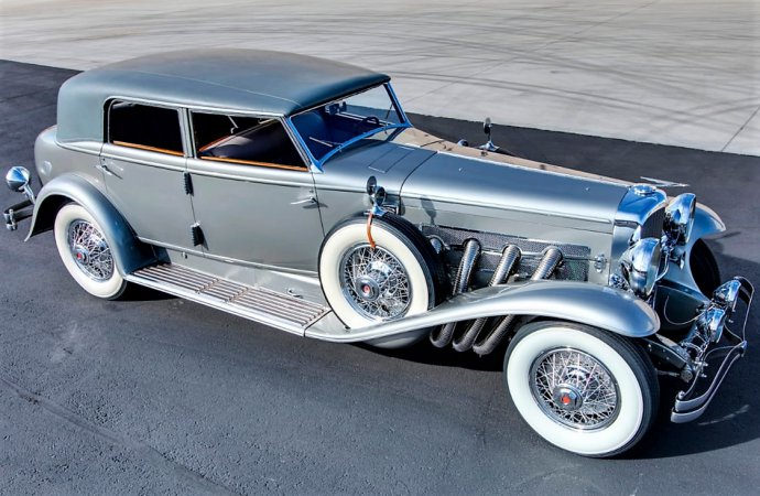Unique 1932 Duesenberg Model J headlines Mecum's Arizona sale