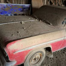 Family fascination leads to barn-found Oldsmobile Jetfire