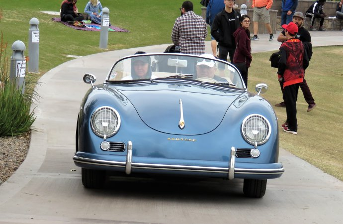 Porsche 356A Speedster | Bob Golfen photo