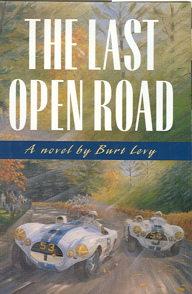 The Last Open Road is a cult-classic car book now being made into an audiobook.