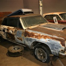 Deteriorating in a driveway for 40 years, rare Z16 Chevelle is rediscovered