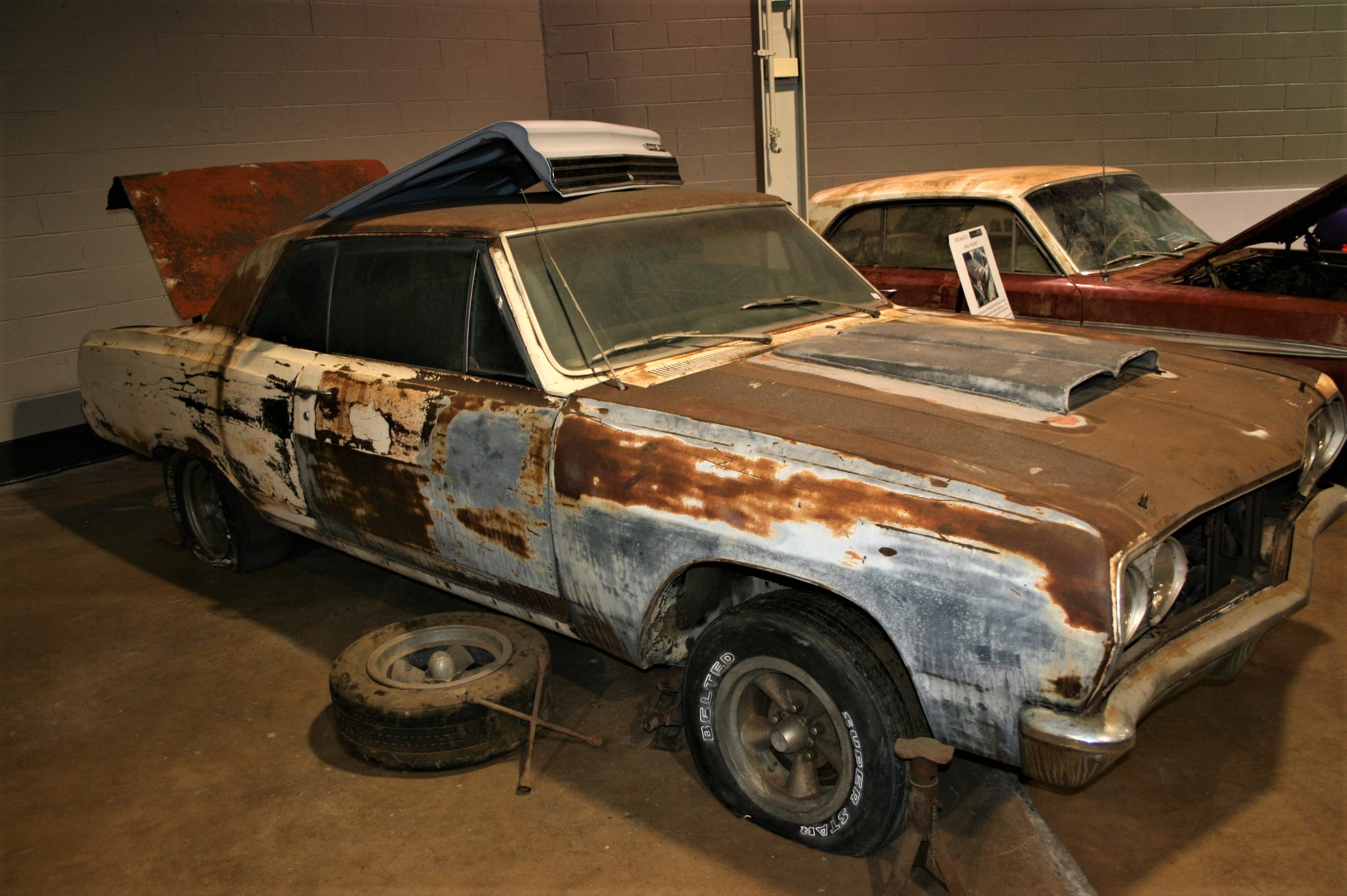 Deteriorating in a driveway for 40 years, rare Z16 Chevelle