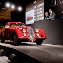 1939 Alfa Romeo 8C 2900 sells for $18.977 million at Artcurial