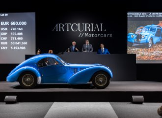 Artcurial hits $47.8 million at Retromobile auction