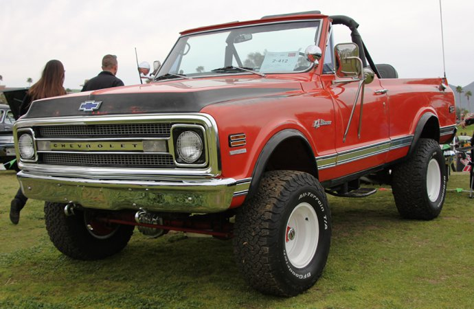This Blazer was one of just a few classic 4x4s at the concours. | Carter Nacke photo