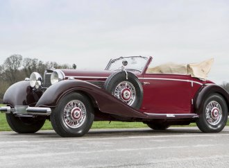 Royal '39 Mercedes-Benz tops Bonhams' Paris auction