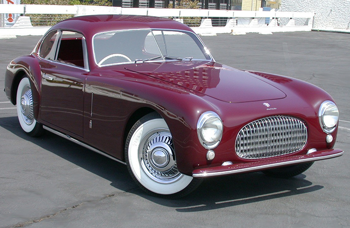 The Cisitalia 202 Coupe is one example of the Italian marque's coachwork that set it apart from other post-war automakers. | Petersen Automotive Museum photo