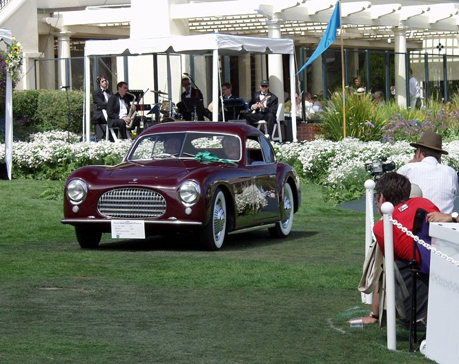 Acquired by the Petersens in 2002 then expertly restored, the 1947 Cisitalia was awarded Best in Class honors at the 2004 Pebble Beach Concours d'Elegance. | Petersen Automotive Museum photo