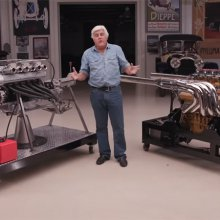 Jay Leno takes a look at the engines that power Lamborghinis